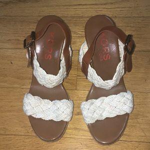 Kors by Michael Kors wedge sandals